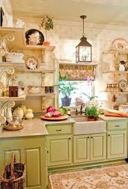 Country Cottage Kitchen Ideas 355 Best Cottage Style Decor Kitchens Images On Pinterest Shabby