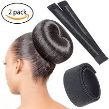 donut bun hair buy chronex women 1 pc hair bun styling