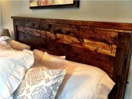 Distressed Wood Headboard Distressed Wood Bed Headboard Home Improvement 2018 Distressed