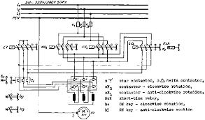 5 5 three contactor star delta connection