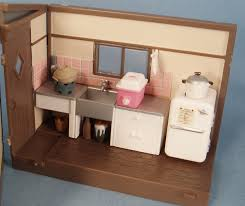 Dollhouse Furniture Kitchen My Vintage Dollhouses My Little Japanese Doll House