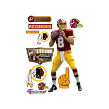 fathead 77 in h x 36 in w kirk cousins wall mural 12 21455 the fathead 77 in h x 36 in w kirk cousins wall mural