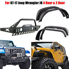 length of 4 door jeep wrangler unspecified length unbranded front black car truck fenders ebay