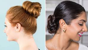 different hairstyles in buns the best bun hairstyles for every occasion