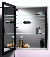bathroom surface mounted cabinet mirror with pivot mirror in pivot