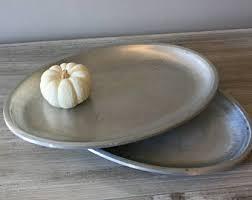 pewter platter pewter platter etsy