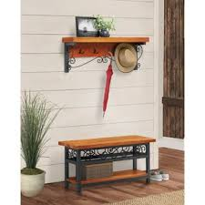 hall tree bench hall trees styles for your home joss main