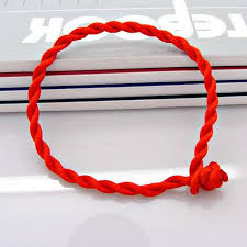lucky charm red bracelet images Buy new men bracelet red rope bangle lucky jpg