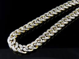 chain necklace diamond images Mens solid miami cuban 6 2 mm diamond chain necklace 30 inch 5 ct jpg