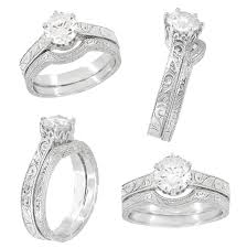 white gold wedding rings the wedding specialiststhe wedding