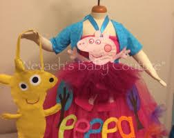 Peppa Pig Halloween Costume Peppa Pig Dress Etsy