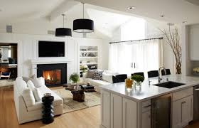 kitchen family room design living room living room kitchen and designs incredible images