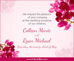 Words For A Wedding Invitation 50 Wedding Invitation Wording Ideas You Can Totally Use