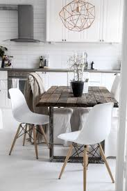 kitchen delightful white rustic kitchen table wooden dining