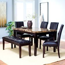 Triangle Dining Table With Bench Furniture Knockout Triangular Dining Table Bench And Chairs