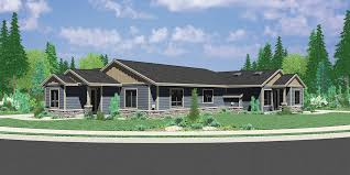 one level duplex house plans corner lot duplex plans narrow lot
