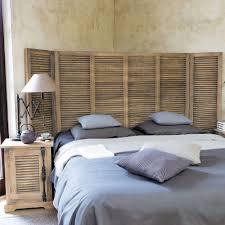 chambre deco bois lit creer dosseret alinea bois rangement une tete recherche console