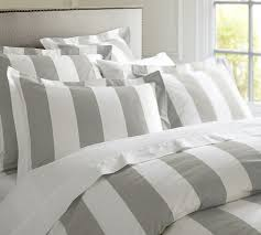 amazing grey and white striped duvet cover king sweetgalas inside