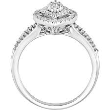 scott kay engagement rings keepsake amie 3 8 carat t w diamond st walmart com