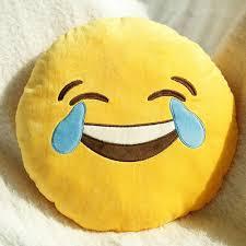 emoji decorative throw pillow stuffed smiley cushion home decor