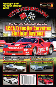 corvette magazine subscription vues magazine march 2017 vues magazine issue