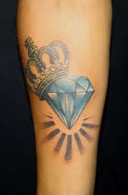 best 25 diamond tattoos ideas on pinterest geometric tattoo