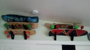 Skateboard Shelf Skateboard Storage Rack Trifecta Rack Storeyourboard Com