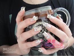 salon acrylic nails images