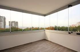 glas balkon glass balcony arkat alüminyum