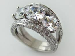 diamond stone rings images Three stone diamond ring jewelry design fort myers jeweler jpg