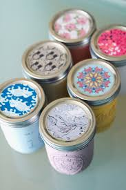 Mason Jar Candle Ideas How To Painted Mason Jar Scented Candles U2013 Sisoo