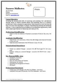 free resume formats resume format for experienced company 1 career