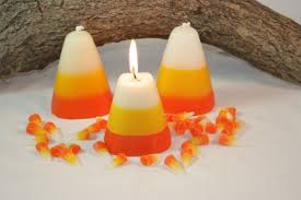 halloween candels candy corn candle scented in sweet candy corn halloween