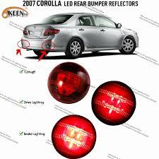 2010 toyota corolla brake light bulb automobiles car led light bar car led rear lihgts tail rear bumper
