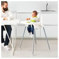 High Chair That Sits On Chair Antilop High Chair With Tray Ikea