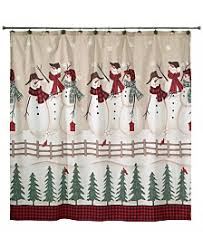 christmas shower curtain shop for and buy christmas shower