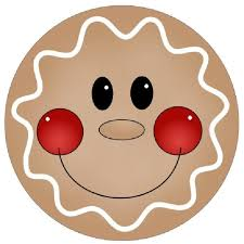 gingerbread clipart cookie decorating pencil and in color