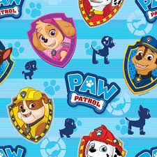 paw patrol book covering 1m