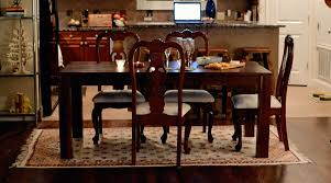 rug in dining room rug under dining room table size u2022 dining room tables ideas