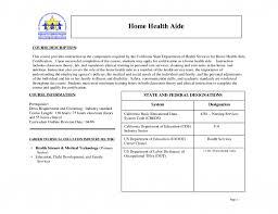 Home Health Aide Resume Sample Home Care Aide Resume Sample Free Resume Example And Writing