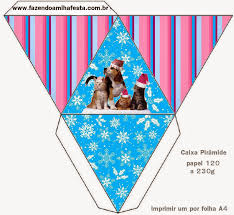dog and cat in christmas free printable boxes is it for