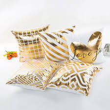 compare prices on luxury gold cushions home decor online shopping