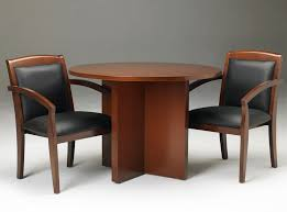 round office table and chairs round wooden conference table with chair set small round office