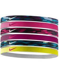 sport headbands nike sport headbands 6 pack lyst