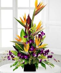 tropical flower arrangements the 5 personality traits for the arrangement kremp