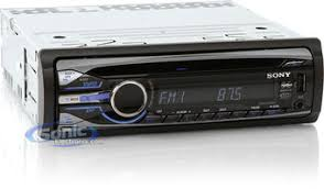 sony cxs gt5516f in dash cd mp3 usb ipod stereo 6 5