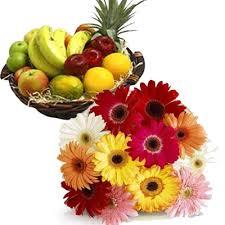 flower fruit punjab flowers send fruits to punjab with fresh fruits gift