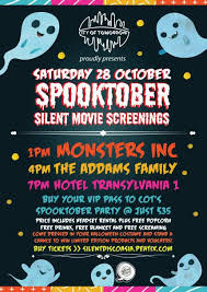 spooktober silent movie screenings city of tomorrow peatix