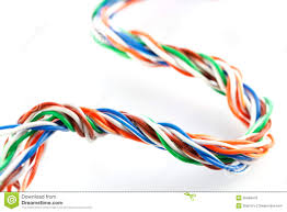 muti color electronic wire stock photo image of interconnect