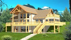 front sloping lot house plans sloping lot house plans hillside daylight basements prepossessing